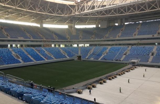Инспекторы ФИФА признали выкатное поле на Крестовском непригодным