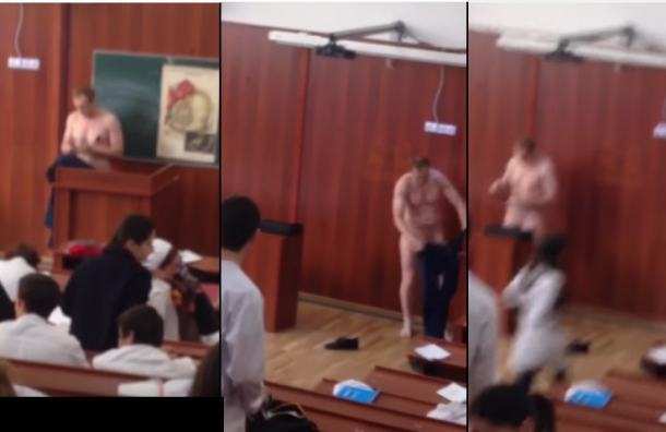 Доцент медакадемии в Дагестане догола разделся во время лекции
