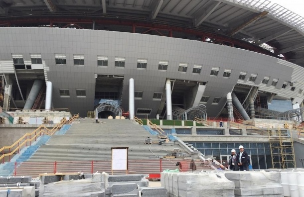 Албин: на стадионе на Крестовском нет неустранимых замечаний
