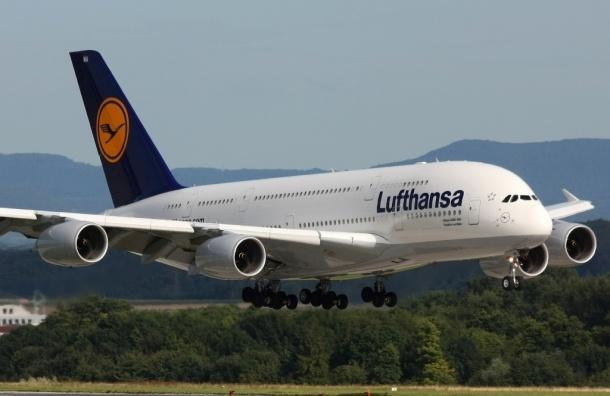 Lufthansa из-за забастовки отменит вчетверг только 40 рейсов