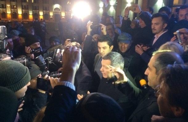 Белорусская оппозиция пыталась сорвать творческий вечер Владимира Соловьева
