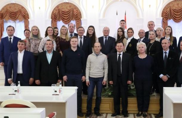 Петербургские чемпионы Олимпиады в Рио получат от города по 5 млн рублей