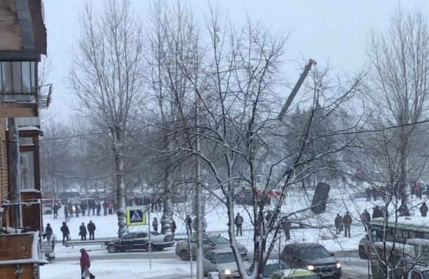 Иномарка «моржевала» в Комсомольском канале