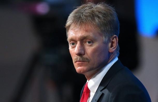 Песков: задержание Улюкаева не повод для отставки правительства