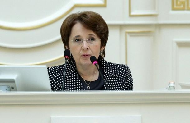 Дмитриева: в целом бюджета здравоохранения в Петербурге нет