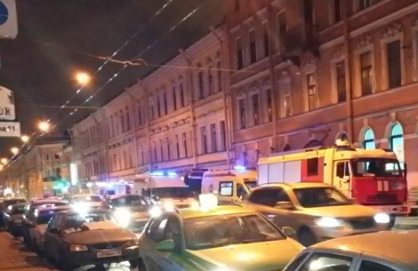 Пожилой петербуржец погиб после пожара на Гороховой