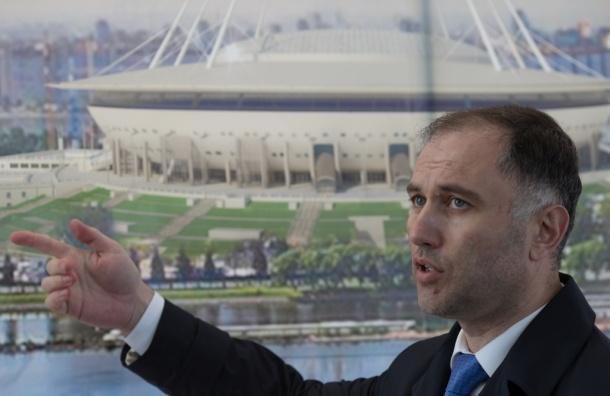 Вишневский: при строительстве стадиона на Крестовском похитили 7 млрд рублей