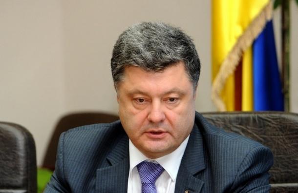 Петр Порошенко прокомментировал отставку Саакашвили