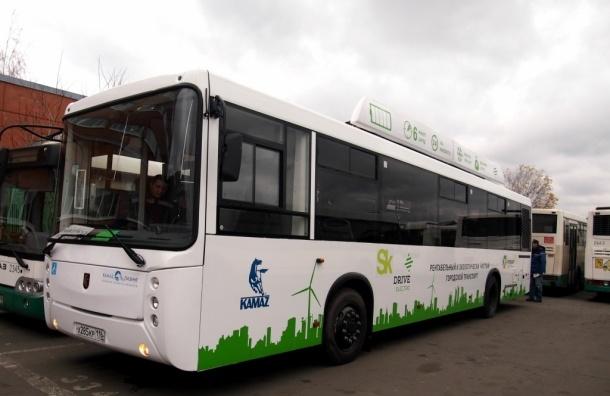 Первый электробус появился в Петербурге