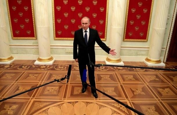 Путин выступит на пресс-конференции в конце декабря