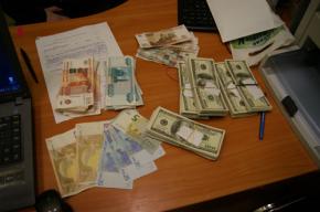 Таможенники изъяли у пассажира «Аллегро» $40 тысяч