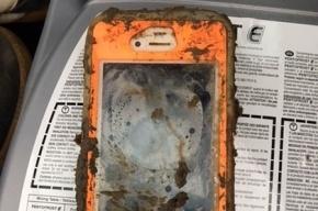 Пролежавший больше года на дне озера iPhone 4 заработал