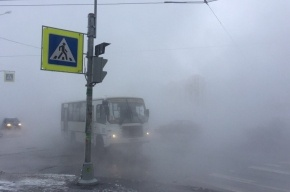 ГИБДД перекрыло движение по ул. Шаврова и Комендантскому пр. из-за прорыва трубы