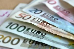Биржевой курс евро облегчился до 71 рубля