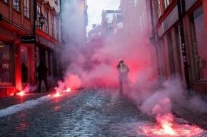 Беспорядками закончилась демонстрация неонацистов в Стокгольме