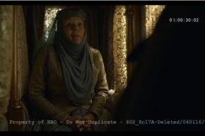 Опубликована удаленная сцена из «Игры престолов»