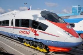 «Сапсан» по пути в Москву насмерть сбил человека в Ленобласти