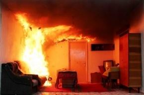 Пожарные спасли женщину из горящей квартиры на улице Лени Голикова