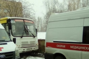 Водитель маршрутки повез больного пассажира до Александровской больницы