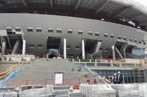 Орлов: стадион на Крестовском почти готов, вибрации не будет
