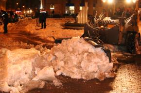 Коммунальщики с начала ноября вывезли с улиц города 550 тысяч кубов снега