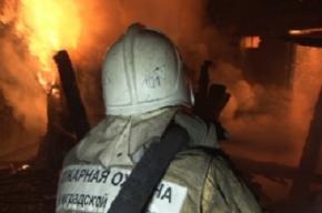 Ребенок погиб в огне в поселке Вырица