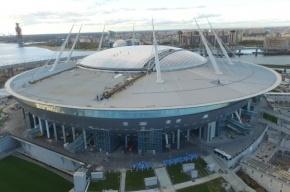 Президент FIFA уверен, что стадион на Крестовском сдадут в срок
