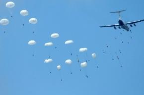 Трое десантников пропали в Краснодарском крае после прыжка с парашютом