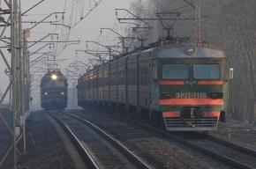 Неисправная электричка остановила движение на Витебском направлении ОЖД