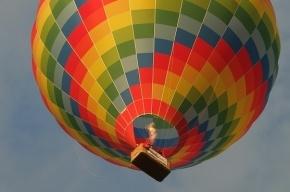 Воздушный шар рухнул на парковку в Хабаровске