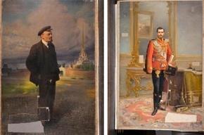 Двойной портрет Николая II и Ленина выставят в «Царском Селе»
