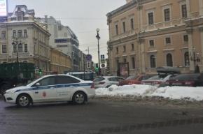Гончарную улицу закрыли из-за чистки крыш