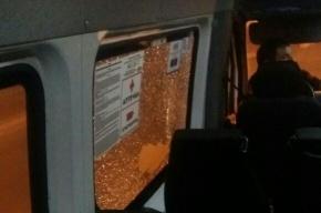 Очевидцы: неизвестные стреляли в маршрутку 424