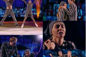 Навка станцевала на Первом танец о любви в нацистском концлагере