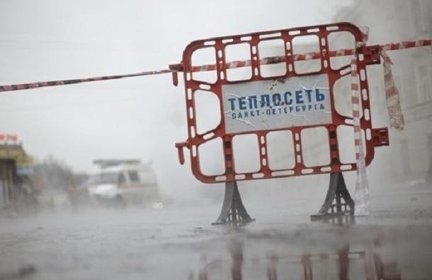 Схема движения меняется на Васильевском острове из-за ремонта теплосети
