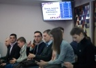 Открытие в Петербурге первого центра выдачи паспортов болельщиков для ЧМ-18, фото: Игорь Руссак : Фоторепортаж