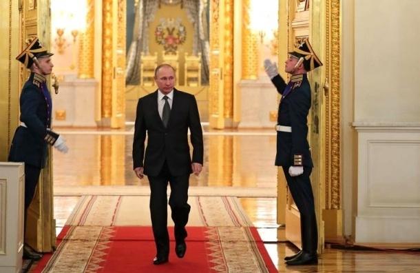 Работой Путина довольны 86% россиян