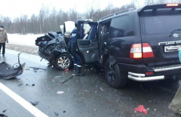 Страшное ДТП с двумя погибшими произошло на выезде из Тосно