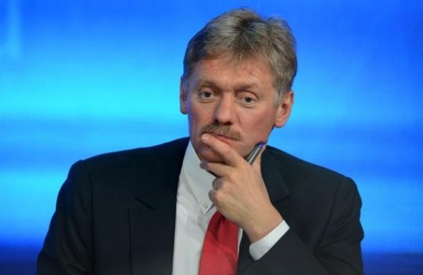 Кремль не считает теракт главной версией крушения самолета в Сочи