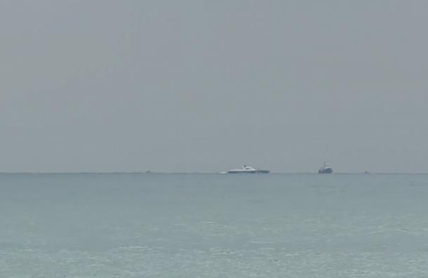 Опубликовано видео поисковой операции в Черном море