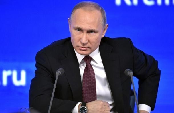 Путин не приедет на праздник в Петербург из-за траура