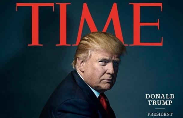 Time выбрала Дональда Трампа человеком года
