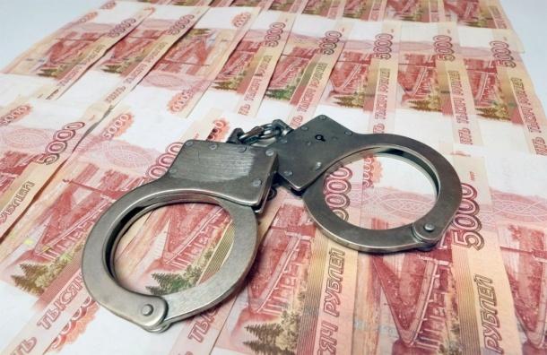 Петербургский следователь попался на взятке в 100 тыс рублей