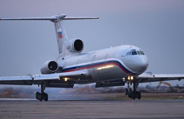 Россия скорбит по жертвам крушения Ту-154