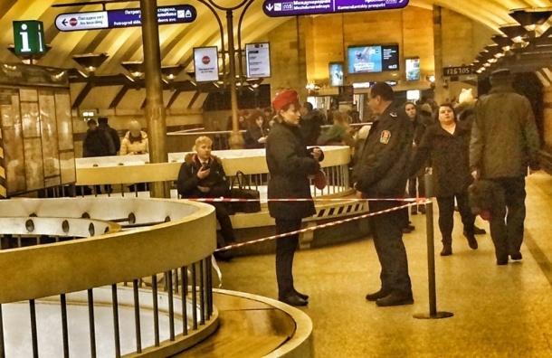 Станция метро «Спортивная» закрыта навход ивыход
