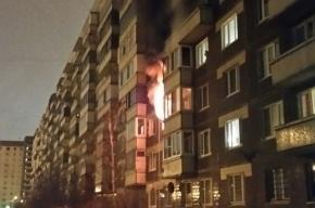 Однокомнатная квартира полностью сгорела на Ворошилова