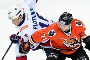 Дубль Широкова принес СКА победу в Хабаровске