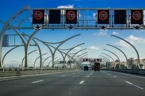 Поток машин на ЗСД после открытия центрального участка вырос на 70 процентов
