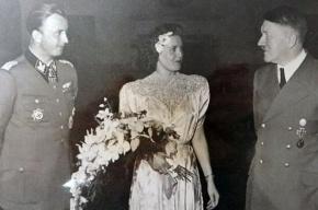 Неизвестное фото Гитлера на свадьбе опубликовали СМИ