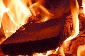 Грузовик горел ночью на улице Репищева